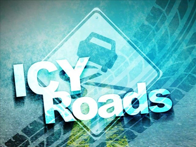 Icy road conditions, weather-related wrecks reported in