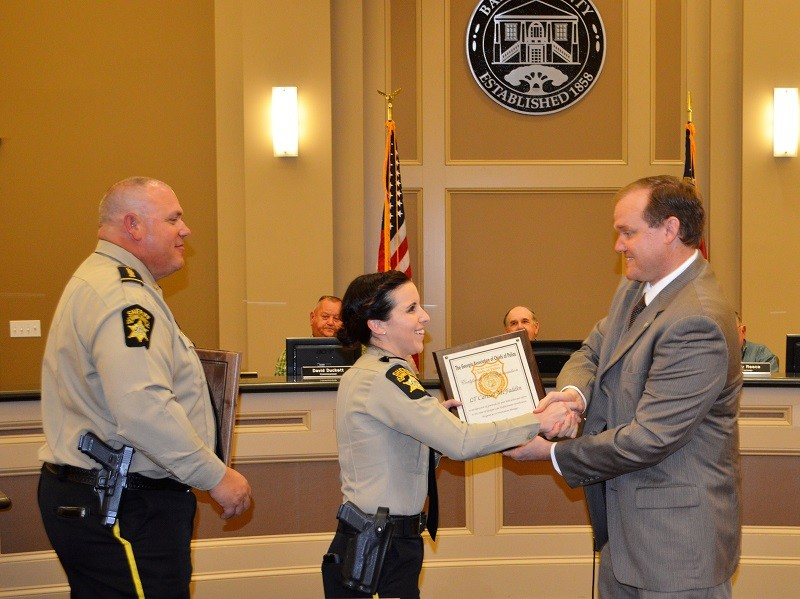Banks County Sheriff's Office achieves state certificat