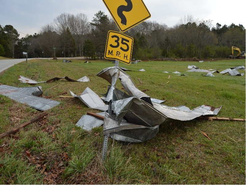 National Weather Service: two 'short-lived' tornadoes t
