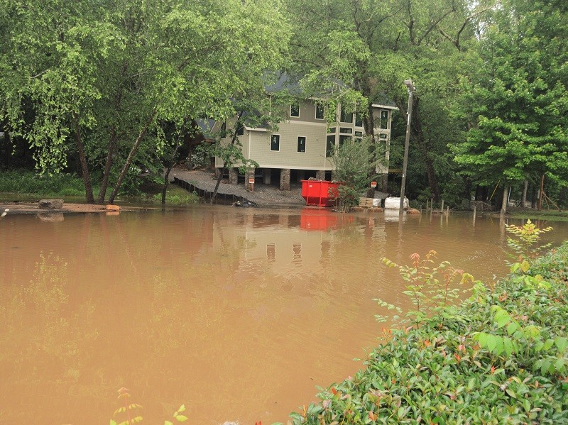 Phenomenal' rainfall event wreaks havoc on Helen, Whit