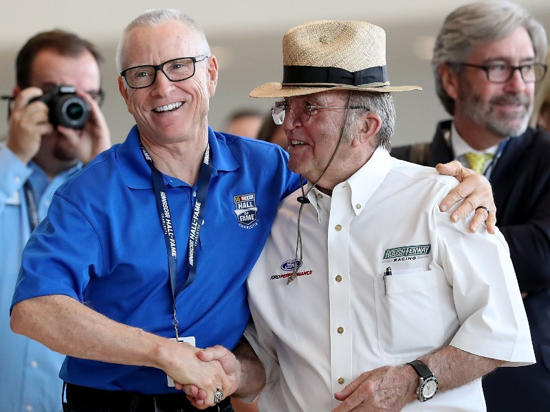 "Jack Roush enters ""rarefied air"" with NHOF induction 