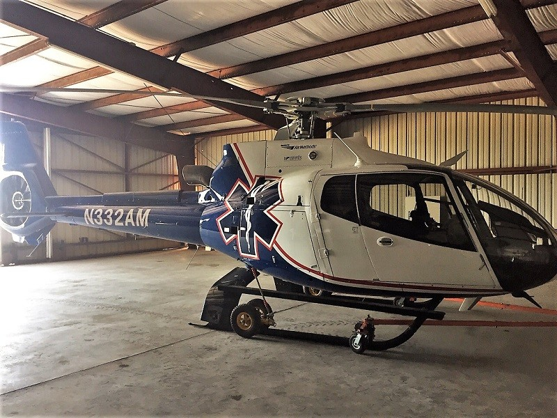 Medical helicopter relocates to Habersham County Airpor