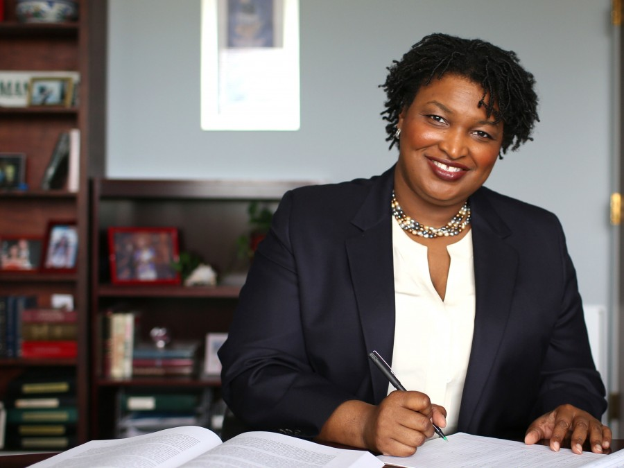 Abrams bringing her 'Fair Fight Action Team' to Habers