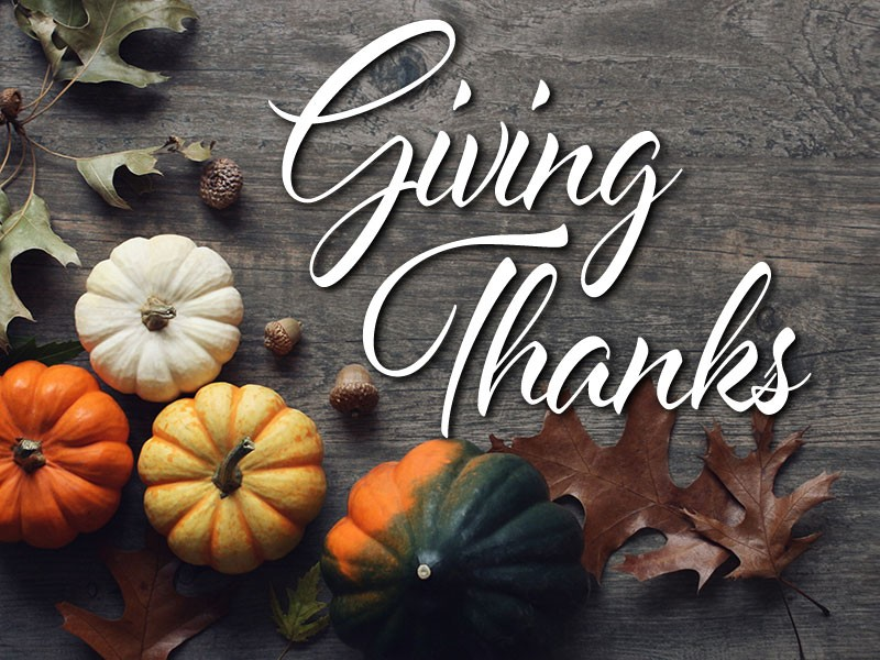 GIVING THANKS: A reflection on gratitude | AccessWDUN.com